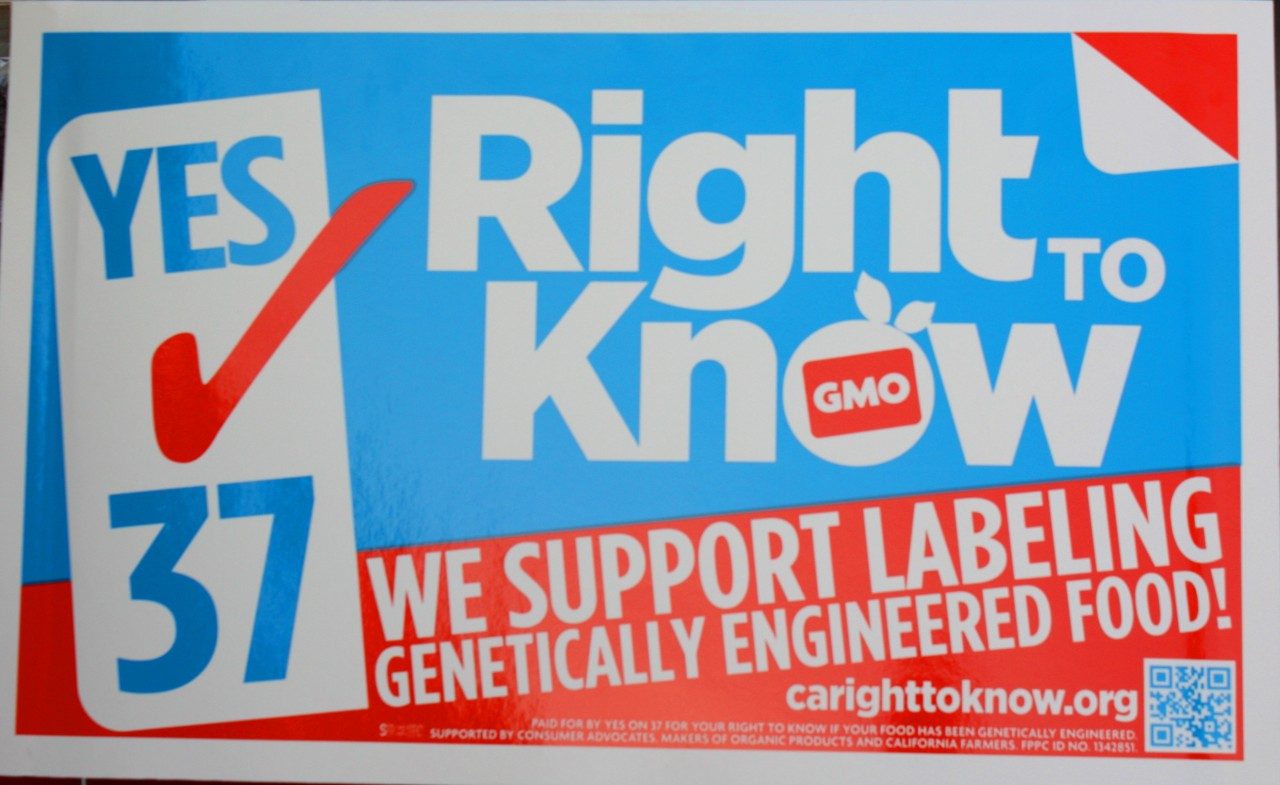 Proposition 37: Why We Should Vote YES to GMO Food Labeling