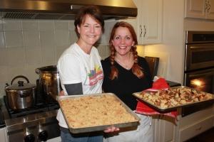 Karen Pavone and Susan Lustenberger