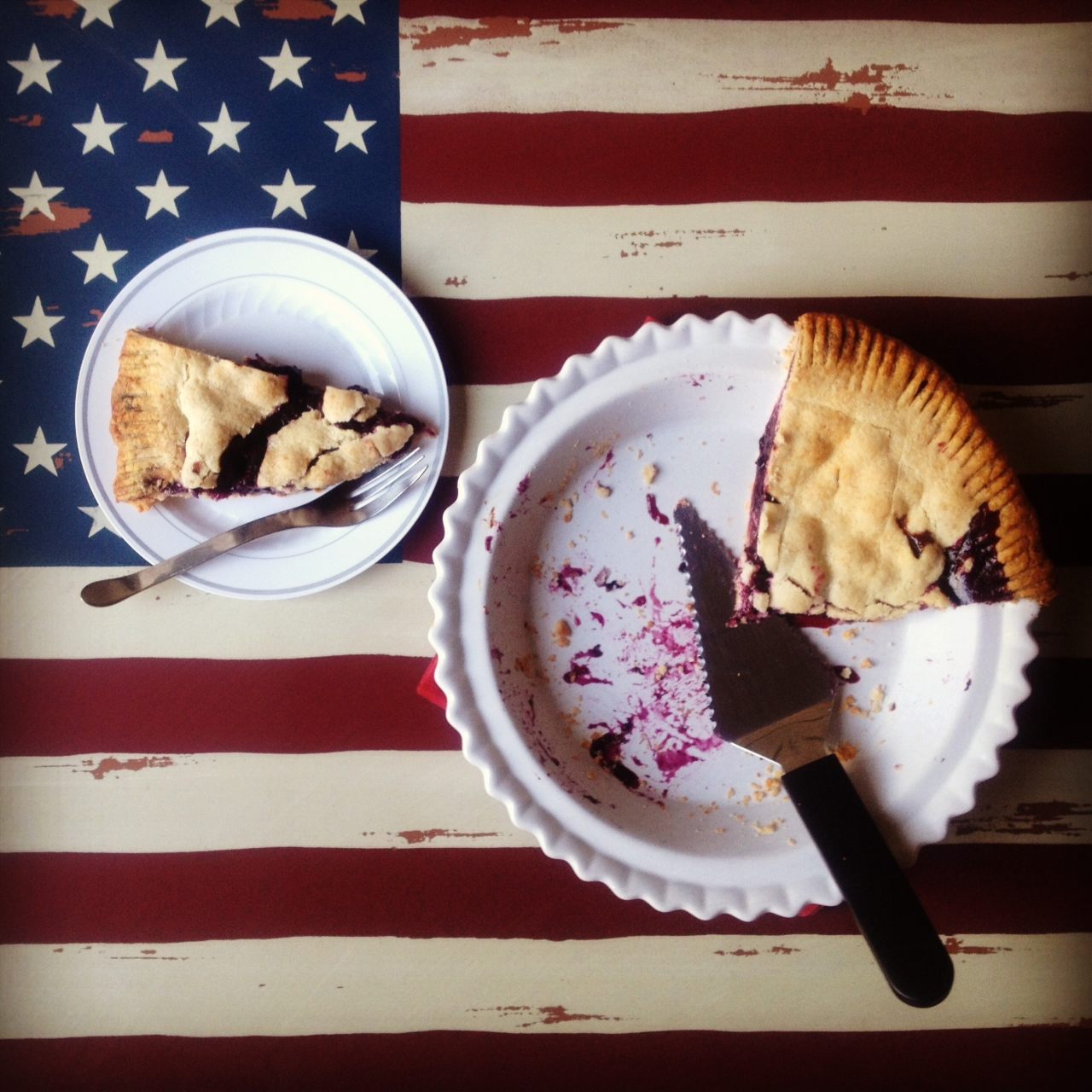 4th of July BlueberryPie