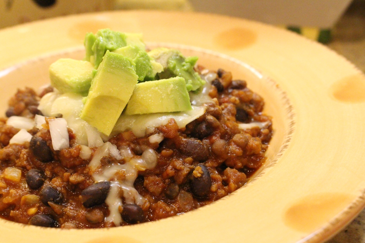 Comfort Food: Vegetarian Chili