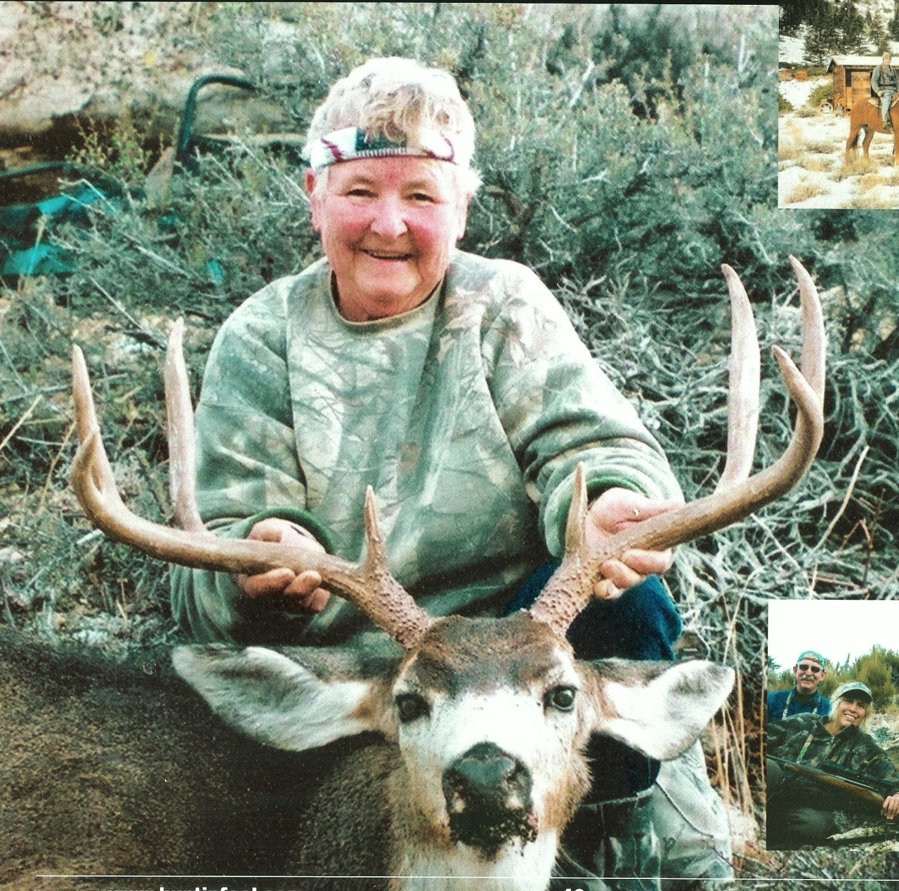 My mom, Nancy Karner-Lewis