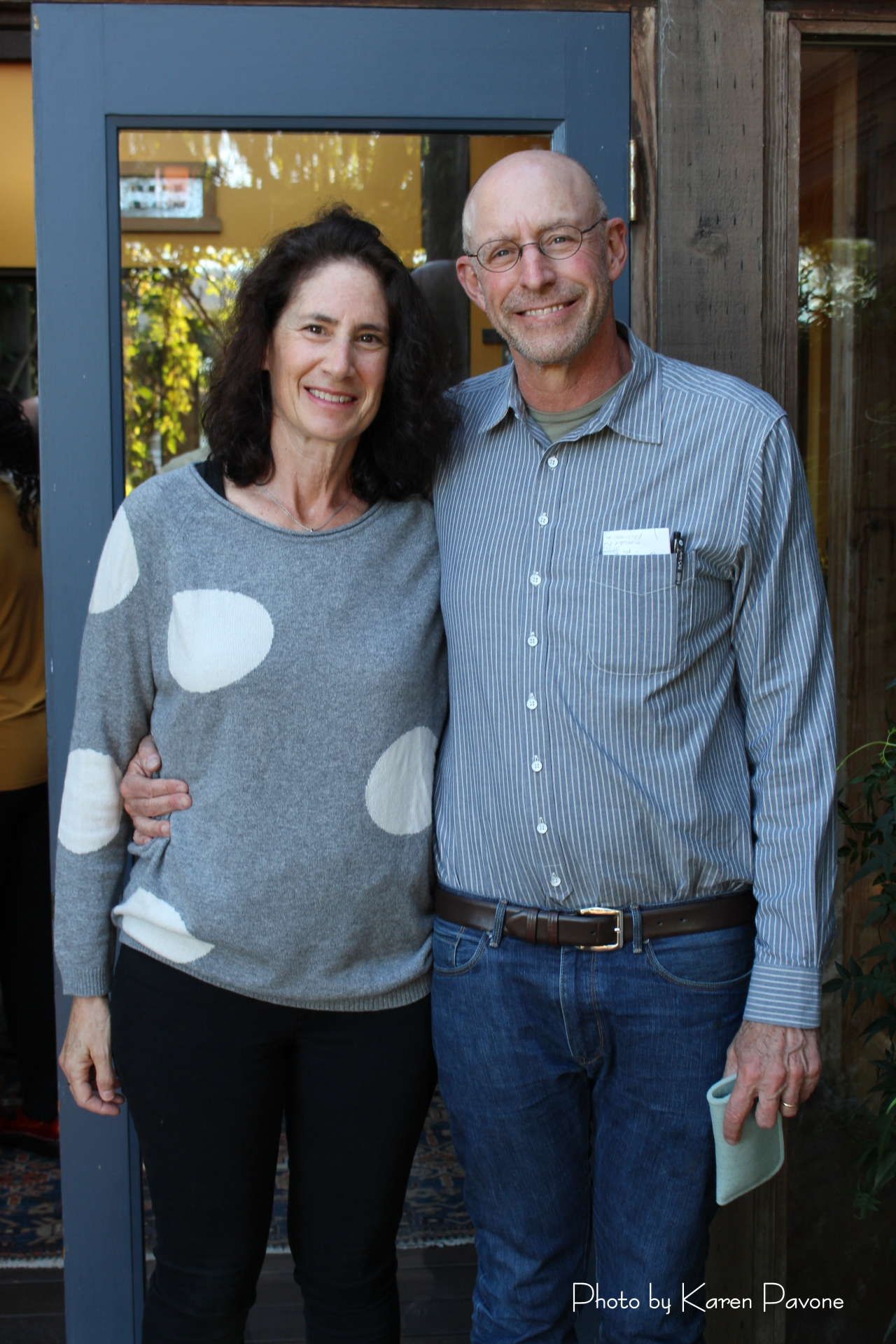 Michael Pollan & wife Judith Belzer