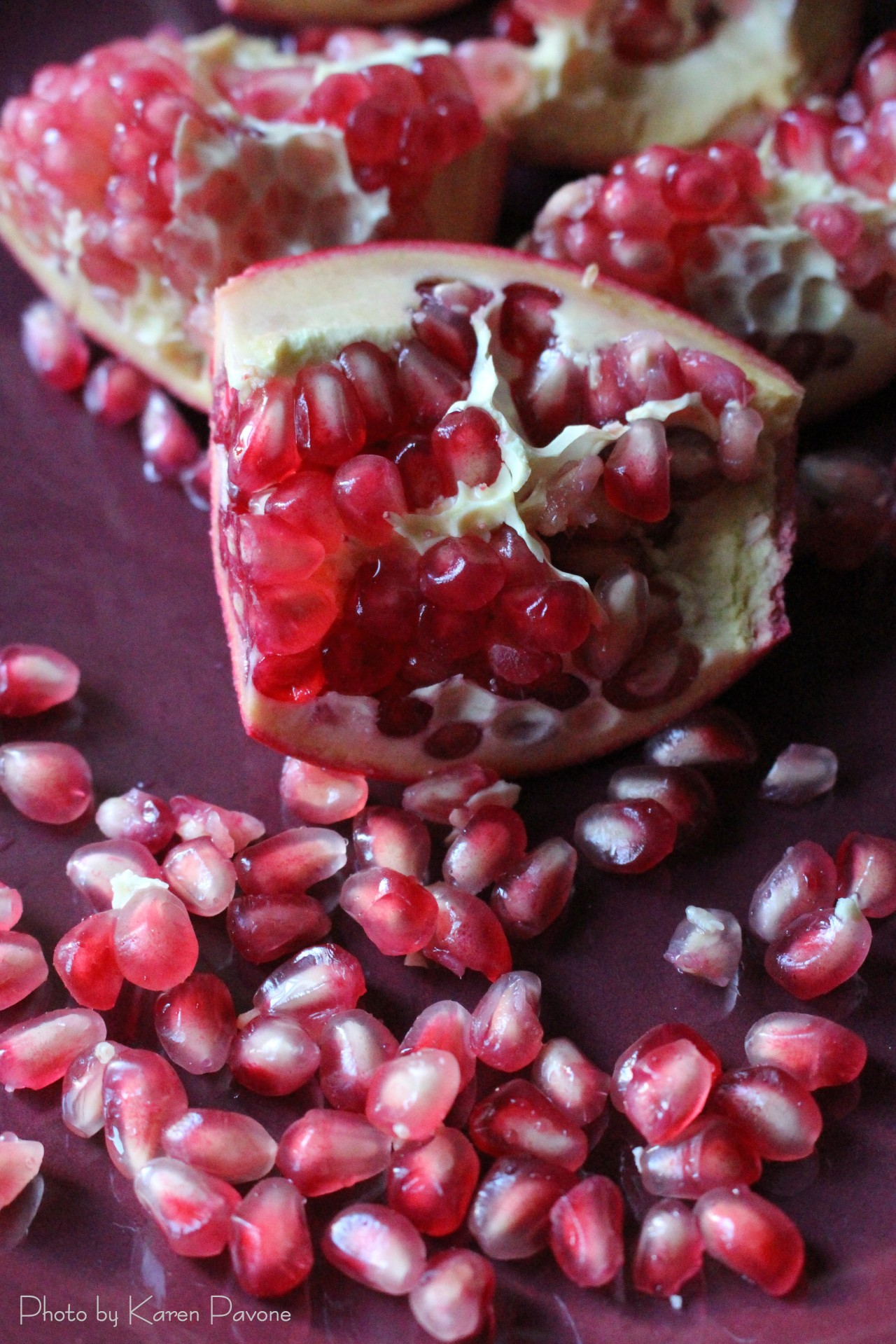 Quick tip: How to Seed a Pomegranate