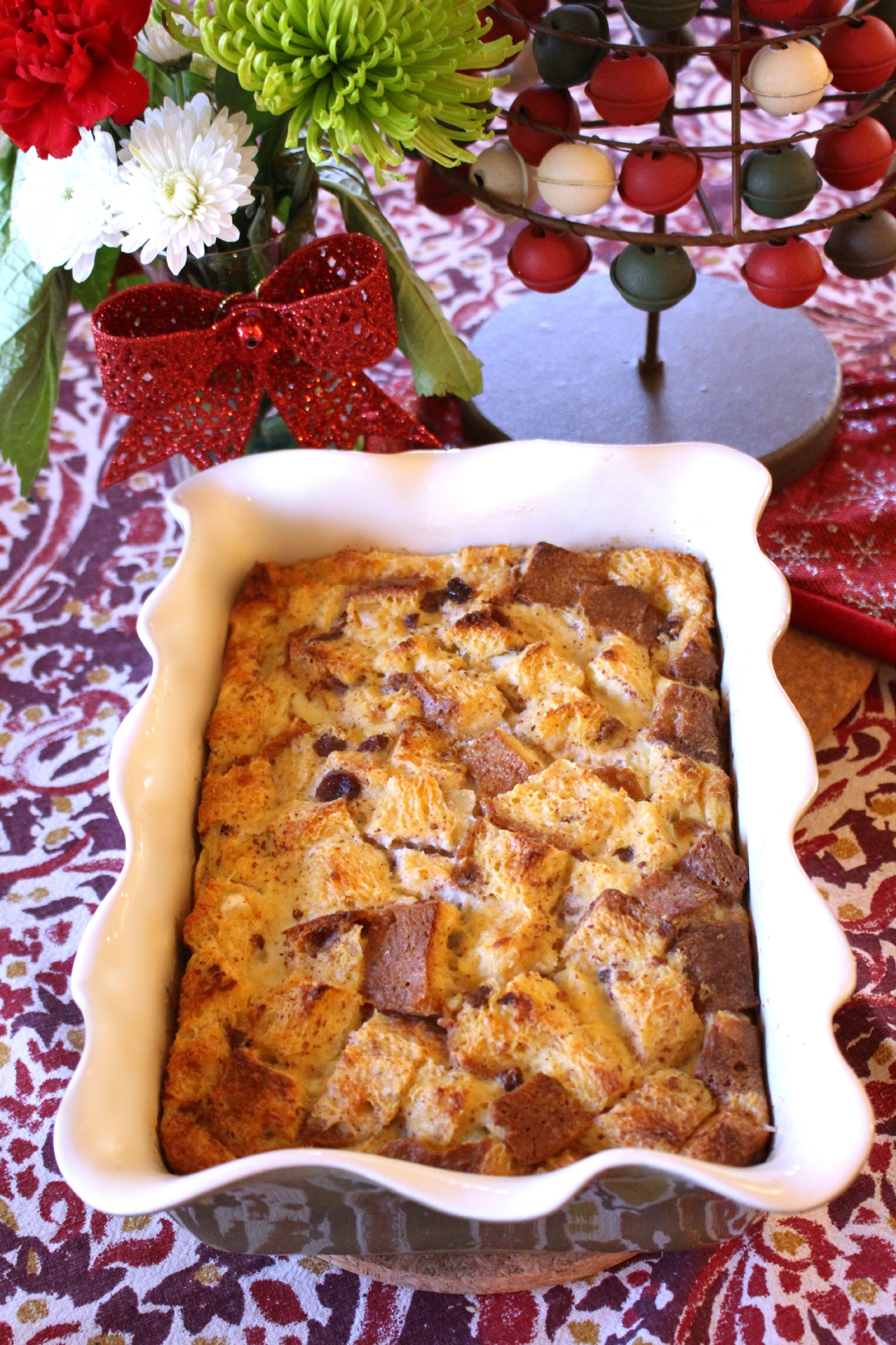 New Year's Panettone-Eggnog Overnight French Toast