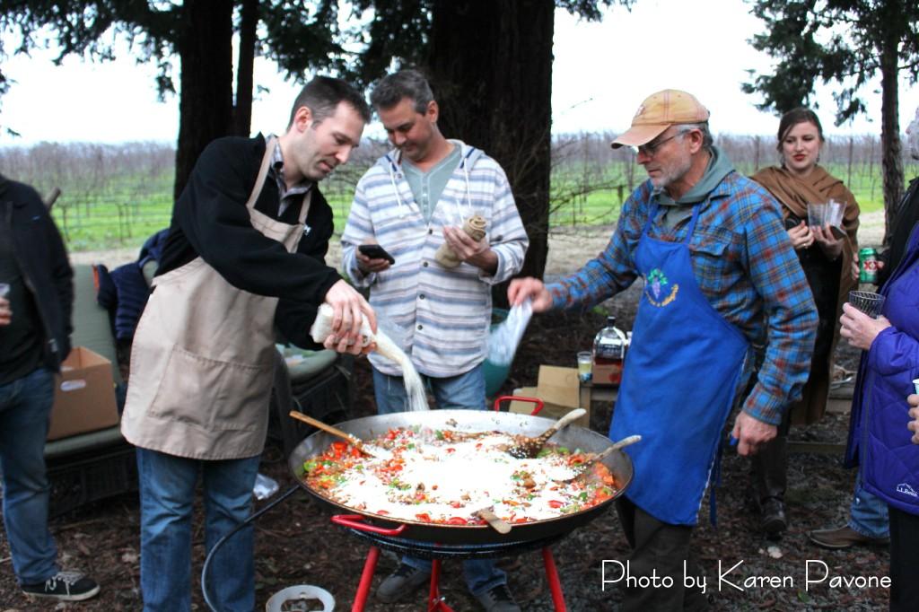 Stan Devoto's famous Paella