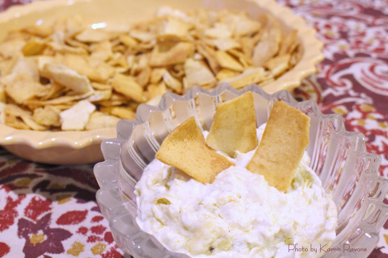 Game-Day Grub: Warm Artichoke-Parmesan Dip