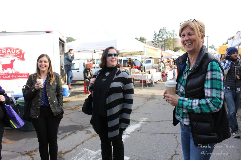 Brigitte Moran, CEO/Executive Director of AIM, leads our market tour