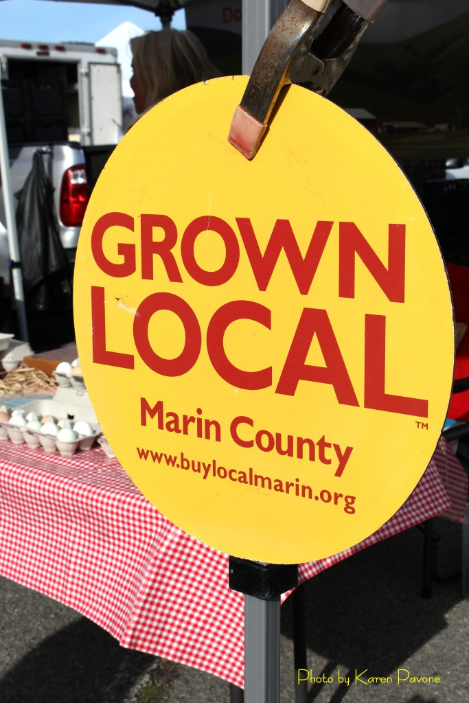 The Grown Local designation is displayed by Marin-based producers of agricultural products.