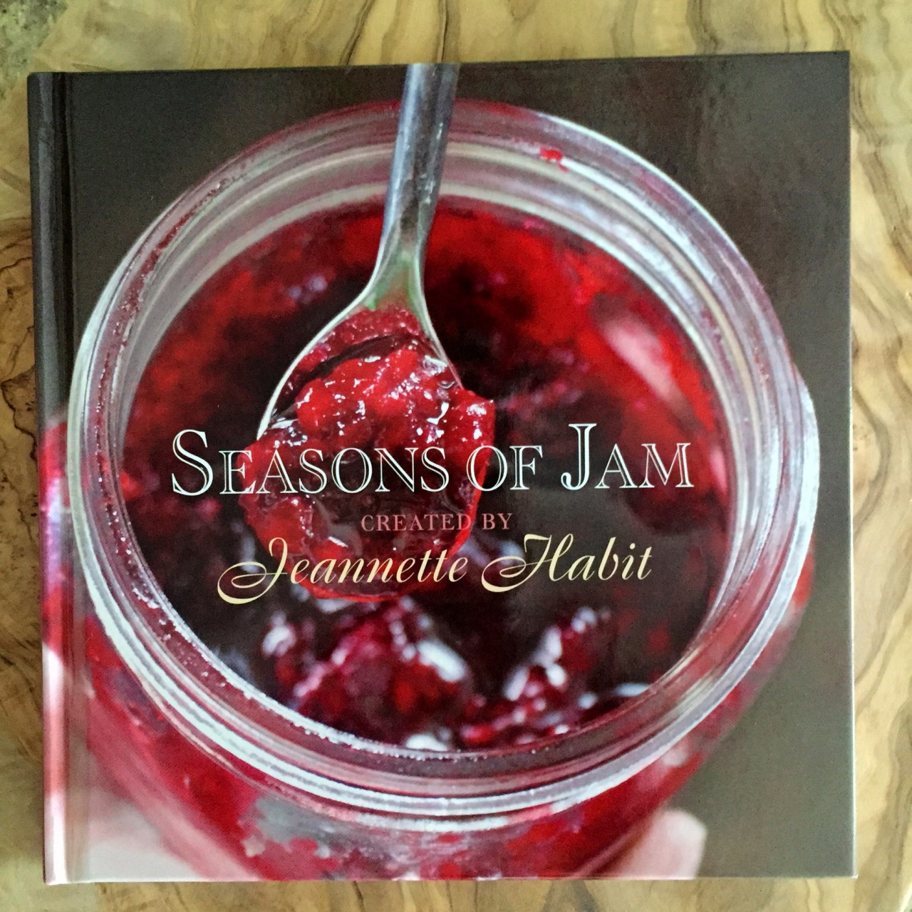 Seasons of Jam: My first bookcollaboration
