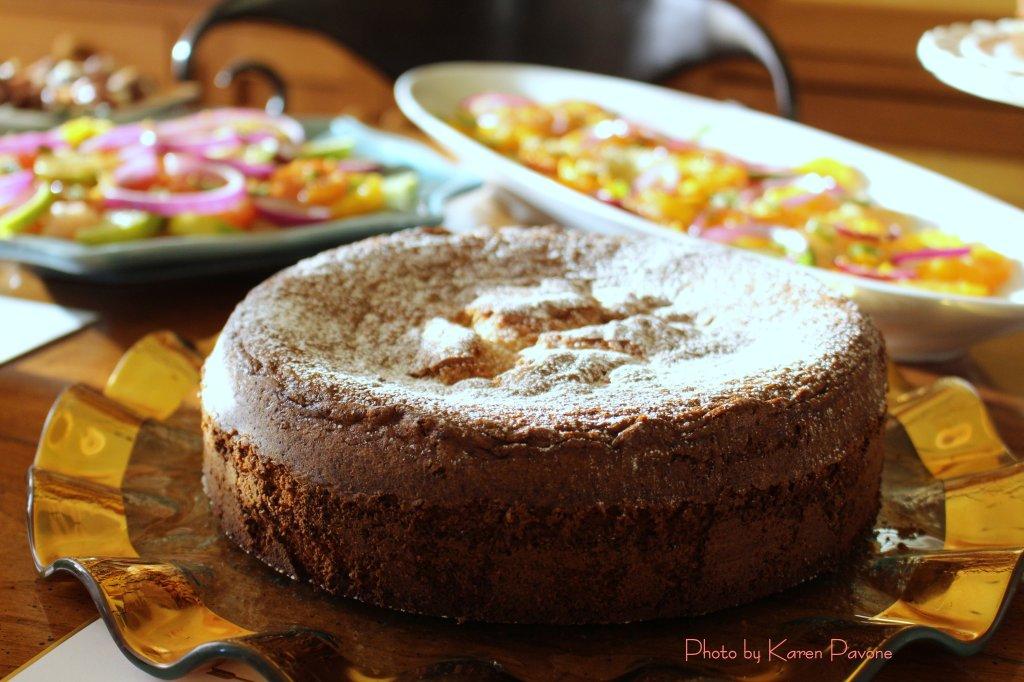 Cafe Almond Cake