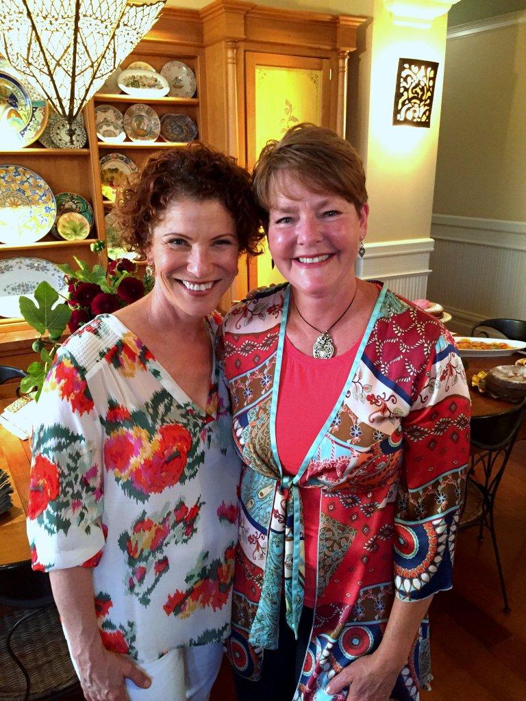 Chef Joanne Weir & Karen Pavone