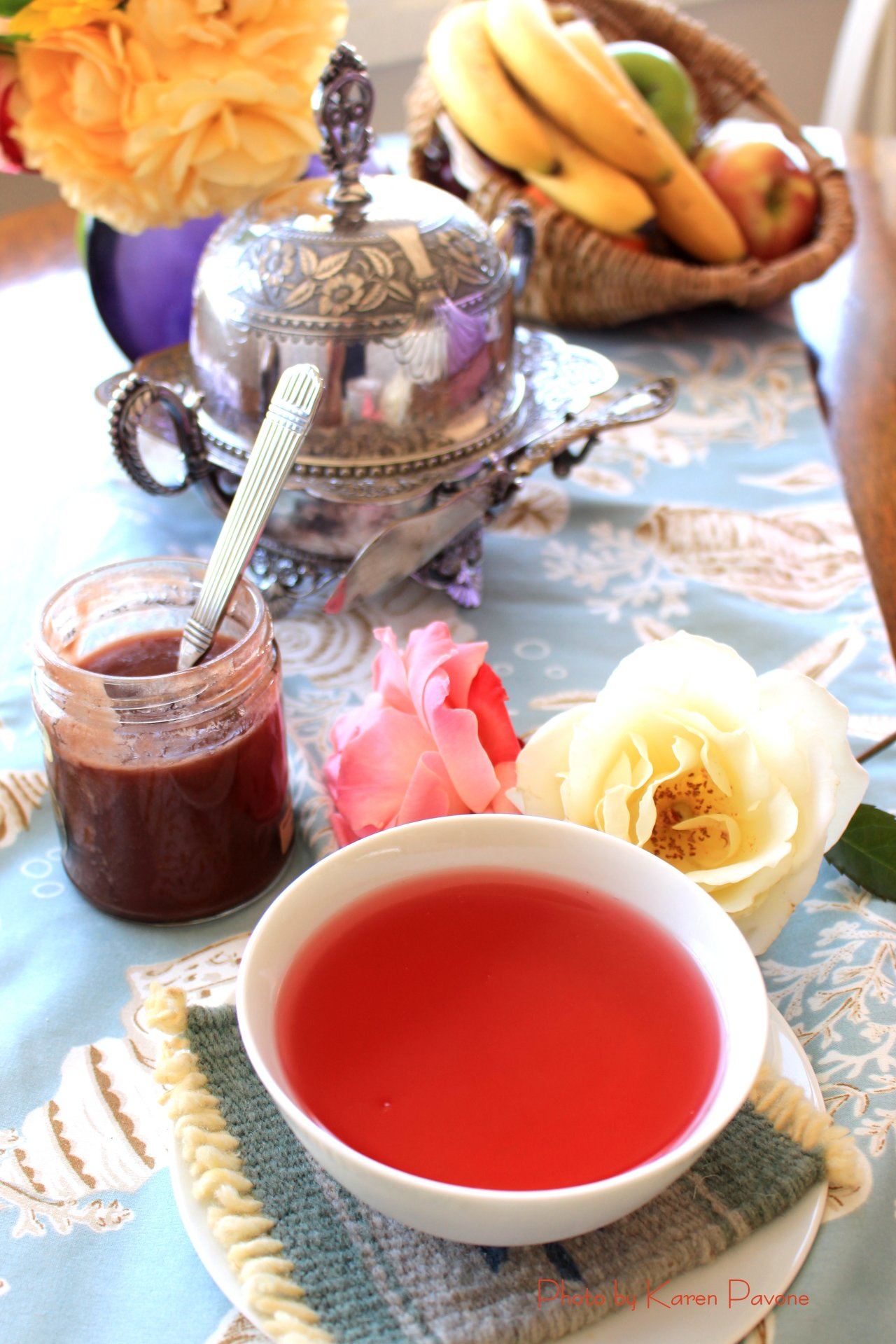 In Season: Hibiscus Tisane