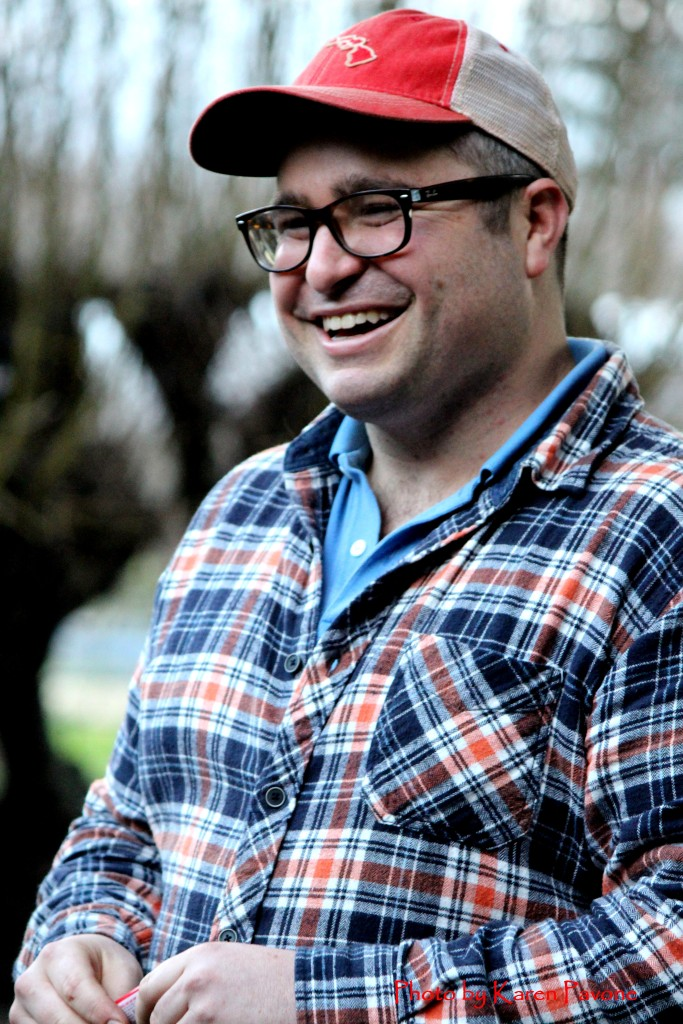 Cider maker Hunter Wade