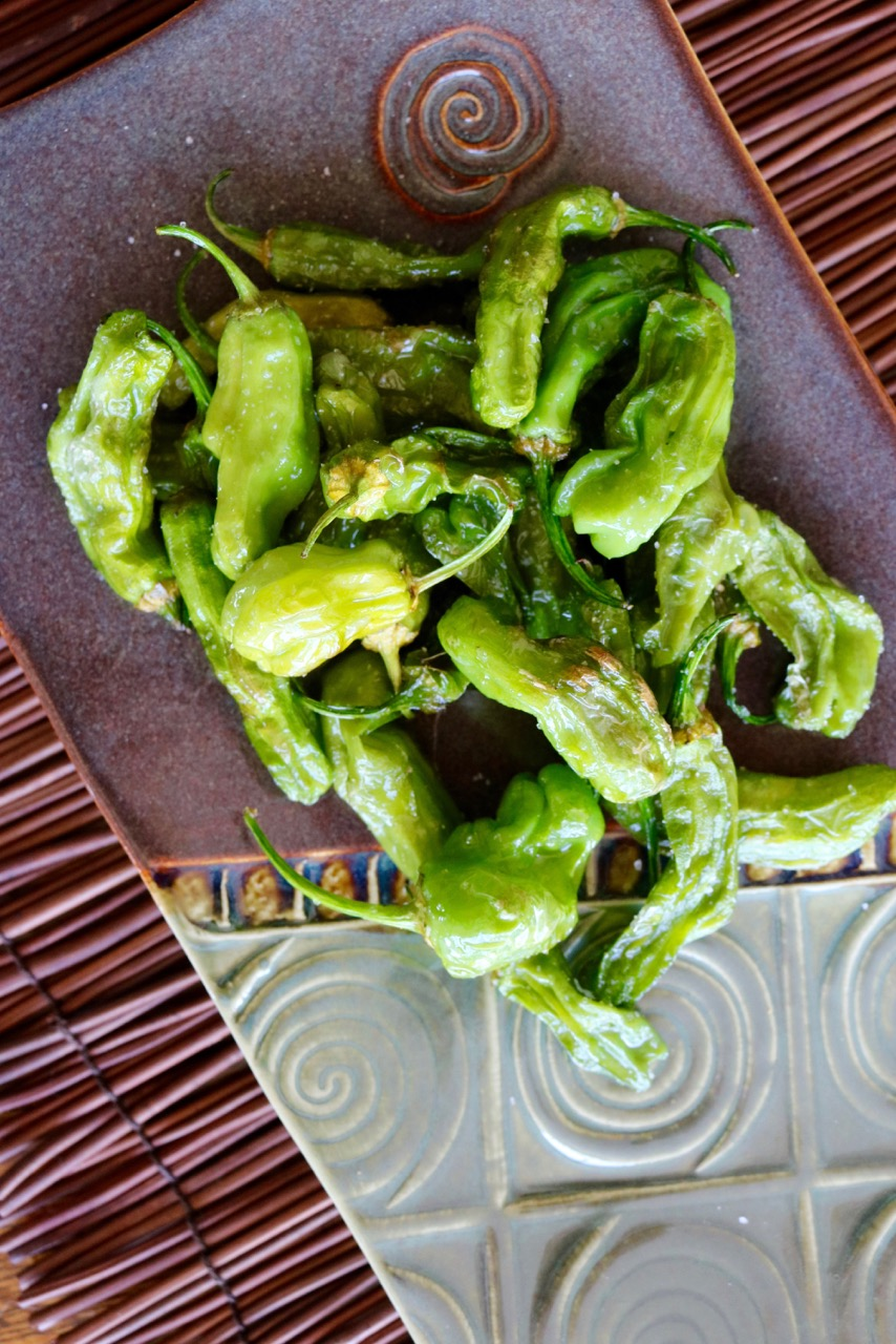 Small Bites: Fried Padron Peppers