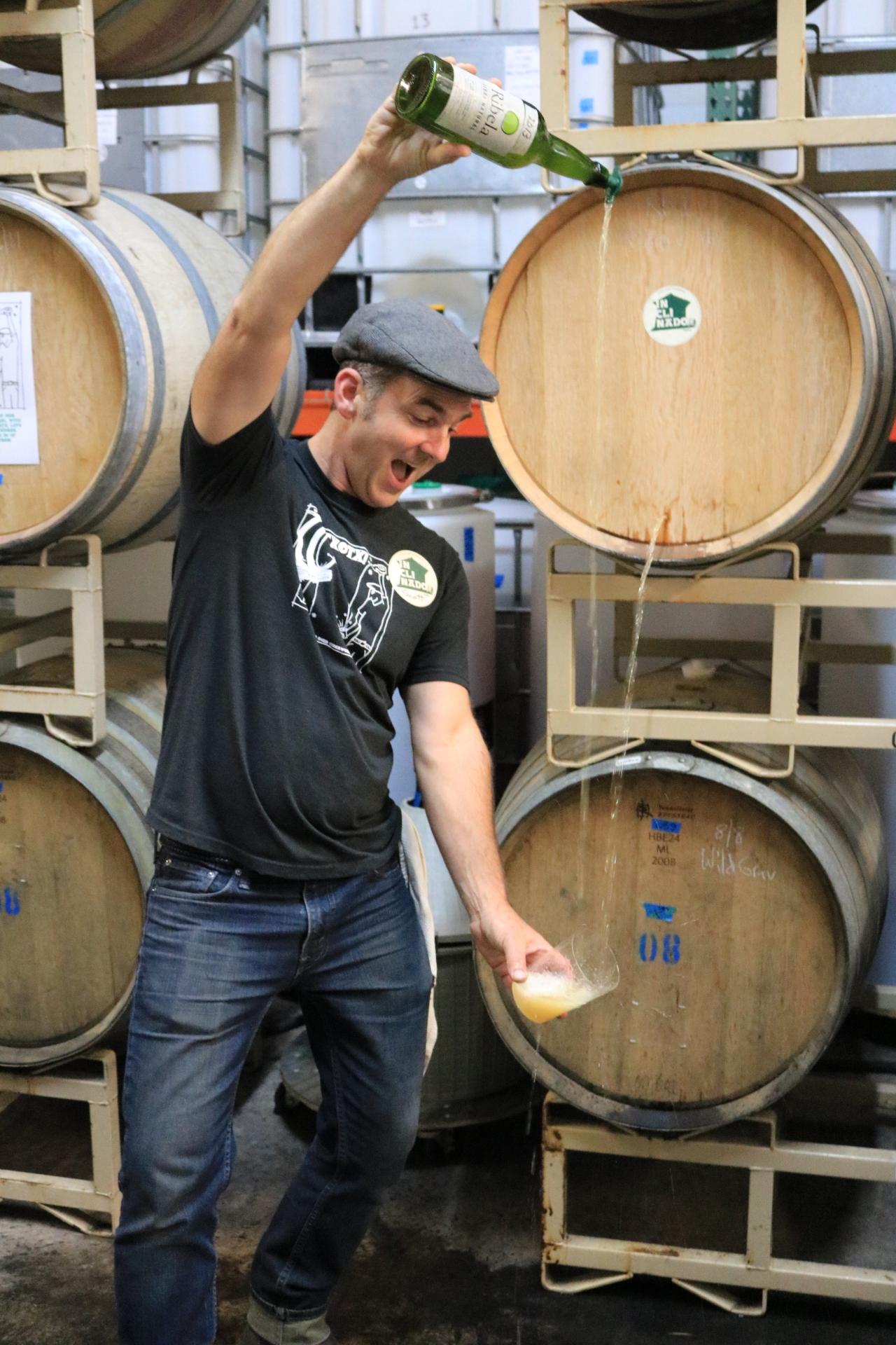 Sonoma County Cider Week: Celebrating like Spaniards atTXOTX!!