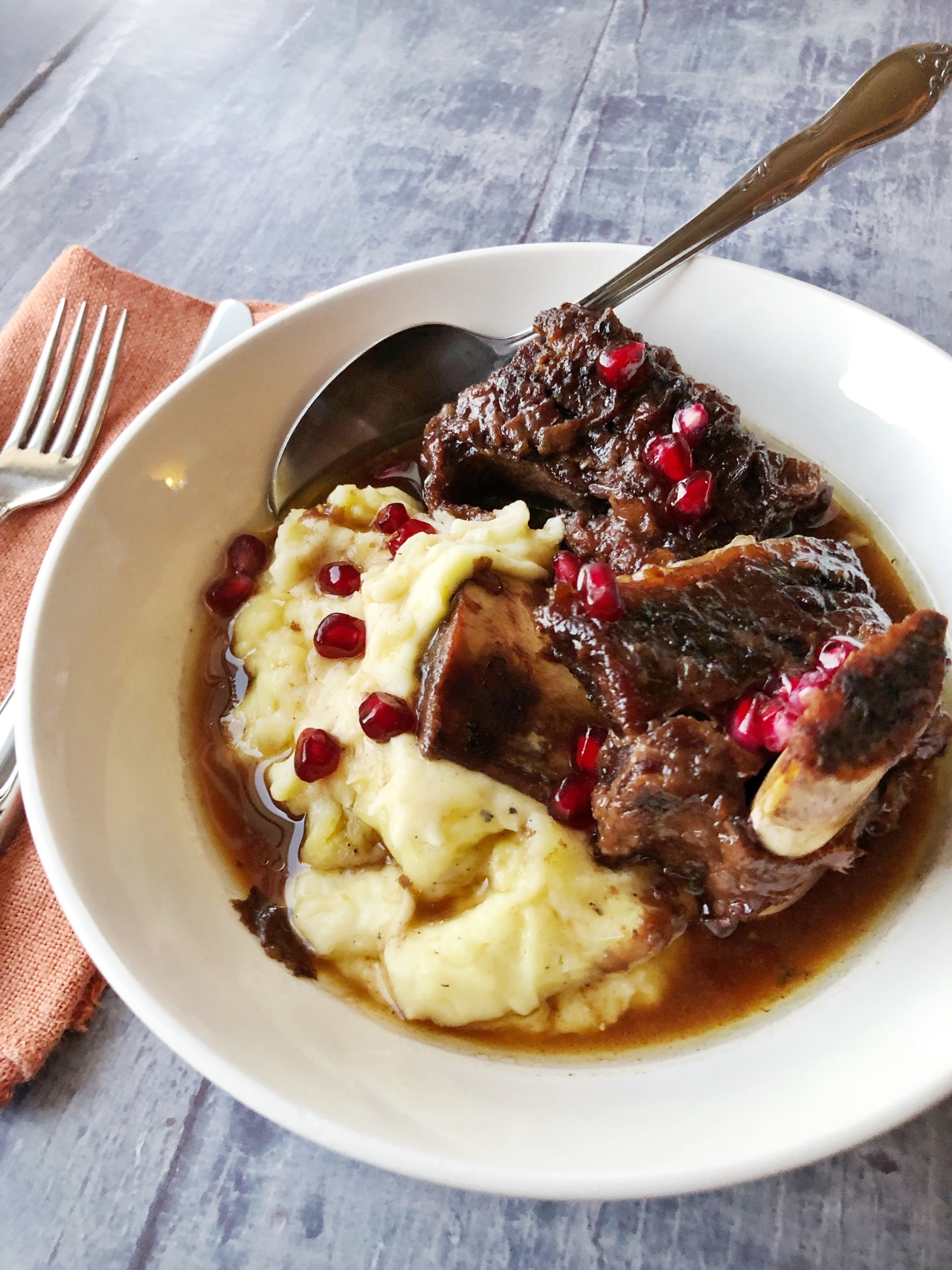 'Tis Braising Season! Beef Short Ribs with Pomegranate